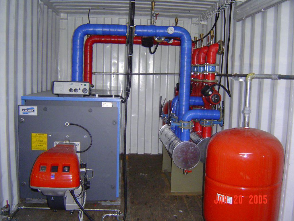 מערכות מים חמים לחימום בהסעה