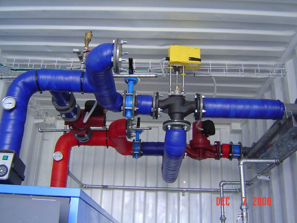 מערכות מים חמים לחימום בהקרנה
